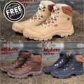 SEPATU TRACKING SAFETY BOOTS PRIA KICKERS