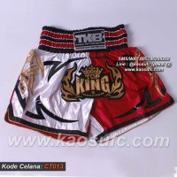 Celana Muay Thai Top King, Celana MuayThai, Muay Thai Shorts CT-O13