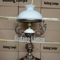 Lampu Meja klasik R-28 Lampu antik Lampu Hias Lampu Betawi
