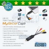 MyGica Capit Video Capture USB Adapter Device USB 2.0