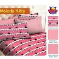 Sprei STAR Melody Kitty Pink Ukuran 180x200