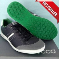 TERBARU SEPATU ORIGINAL golf ecco black green original golf hobi olah