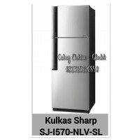 Kulkas 2 pintu Sharp SJ-I570NLV-SL