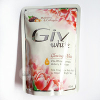 Giv Glowing White Mulberry & Collagen 450 ml Sabun Cair Refill