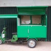 Box motor roda tiga / motor toko (moko) / dagang keliling