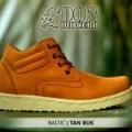 Sepatu pria kulit boot gaya casual styli KODE BN755