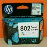 HP Catridge 802 Colour  Tinta Printer HP 802 Warna T1910
