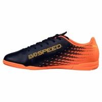 Sepatu futsal puma Evospeed 17.5 IT orange-black  origin 100% Original