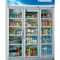 Panasonic Display Cooler / Kulkas / Showcase 3 Pintu