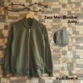 Jaket Zara Men Bomber Army / grosir jaket sweater distro pria wanita