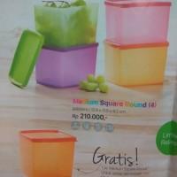 TUPPERWARE PROMO FEB 17 / medium square round