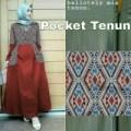 maxi pocket tenun*baju muslim*baju gamis*batik gamis*songket*murah*in
