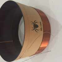 Voice Coil/Spool Speaker BS-1898 ORI Black Spider