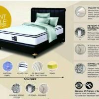 kasur spring bed 180 x 200 set airland pillow top custom sss matras