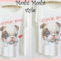 L0407 Kaos Super Dog Limited
