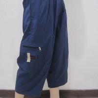 Celana Pria Dn Panjang Cargo katun Pangsi / Sirwal