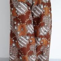 Celana Batik Kulot Panjang Klok K12 Coklat