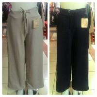 Celana Panjang Kulot gaya kekinian cantik fashion import wanita cewe