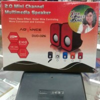 Speaker Laptop dan PC ADVANCE Duo 026