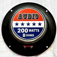 SPEAKER 6 INCH WOOFER AUDIO 200 WATTS 8 OHMS