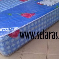 Big Foam GQ 200x090x18 Gold Sarung Quilting / Kasur Busa/ Garansi 5 th