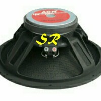 Speaker 12 inch 1280 ACR Black Magic 500watt (sepasang)