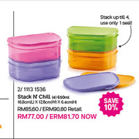 stack n chill tupperware malaysia