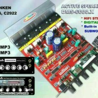 KIT POWER AMPLI SPEAKER AKTIF SUBWOOFER NO MP3 DMS-6000