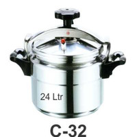 Panci Presto/ Commercial Pressure Cooker Getra 24 Liter C-32