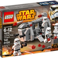 LEGO star wars brick Imperial Troop Transport mainan anak laki cerdas