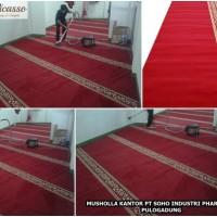 karpet Masjid Harga Murah Warna Merah Di Jakarta