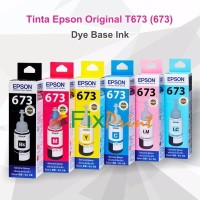 Tinta Epson Original 673 t6736 Light Magenta 70ml Printer L800 L1800