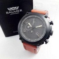 Jam Tangan Balmer BL 7882 Brown Black Jam Original Murah Pria Branded