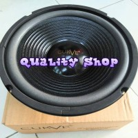 speaker woofer 10 inch curve 300 watt 8 ohm