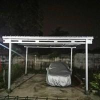 baja ringan untuk garasi mobil jual canopi buat kendaraan anda kab