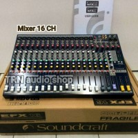 Mixer Audio Soundcraft EFX 16 (16 ch full)