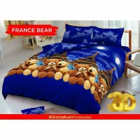 Bed Cover Kintakun D'luxe France Bear