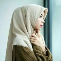 Jilbab Segi Empat Rawis Hijab Square Katun Ero Grosir Murah