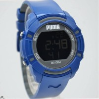 JAM TANGAN PUMA Sport Men Watch Quartz Digital Classic - Blue