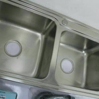 Kitchen Sink Stainless Steel / Bak Cuci Piring 2 Lubang / GS L28344