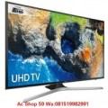 SAMSUNG 65MU6100 UHD 4K SMART LED TV 65 INCH UA65MU6100 NEW TV JUARA