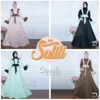 qonita dress by sulili (gamis/baju muslim)