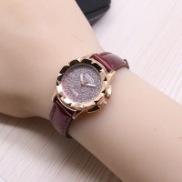 JAM TANGAN WANITA KULIT GUESS 0609 MURAH INCLUDE BOX