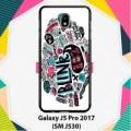 Blink 182 Pink F0777 Samsung Galaxy J5 Pro 2017 Case