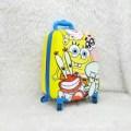 Tas Troli Koper Fiber Anak Spongebob