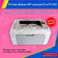Printer Bekas HP Laserjet P1102