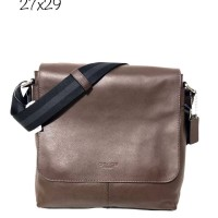 Tas Pria Authentic COACH Men Charles Messenger Original Asli