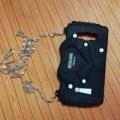 Samsung Galaxy J710 3D Bag Moschino tali Rantai Sarung Armor Soft case