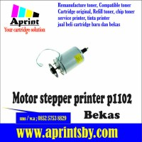 motor stepper bekas p1102 printer hp laserjet 1102 toner hp 85a