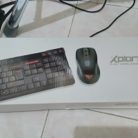 ALCATROZ XPLORER AIR 1000 KEYBOARD + MOUSE